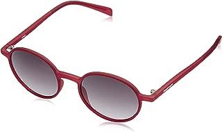 Fastrack UV Protected Round Men's Sunglasses - (P276BK1 49 Black Color)