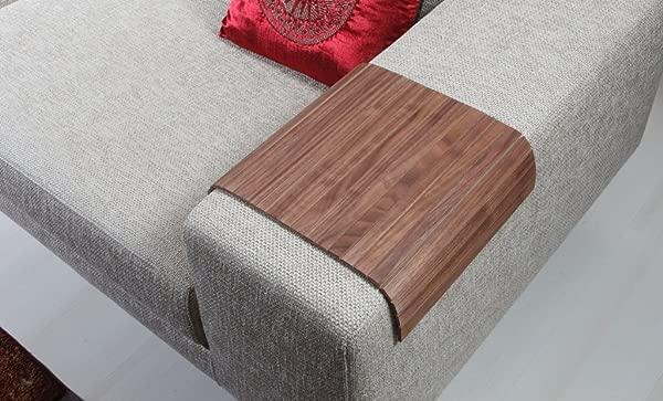 Sofa Tray Table Natural American Walnut Sofa Arm Tray Armrest Tray Sofa Arm Table Couch Tray Coffee Table Sofa Table Wood Tray