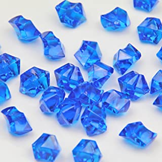Royal Acrylic Ice Rock Crystals Treasure Gems for Table Scatters, Vase Fillers, Wedding, Banquet, Party, Event, Birthday Decoration (Royal 150)