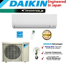 New Japan Daikin 12,000 BTU Ductless Mini Split Air Conditioner 2015 / High Efficiency / High Energy Saving / High Seer Inverter Air Conditioner Heating, Cooling, Dehumidification, Ventilation 0.75 TON