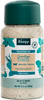 Kneipp Mineral Bath Salts, 17.63 Ounces (Goodbye Stress, Rosemary & Mint)