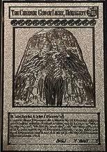 Yugioh The Creator God of Light, Horakhty custom Silver Metal Card English New