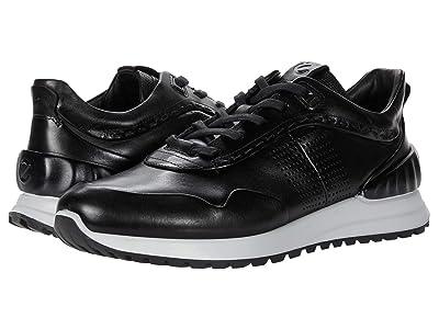 ECCO Astir Dress Sneaker (Black) Men