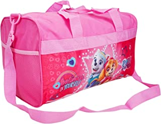 Nickelodeon Paw Patrol Duffel Travel Bag Skye & Everest Print