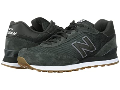 New Balance Classics ML515 (Defense Green/White Suede/Mesh) Men