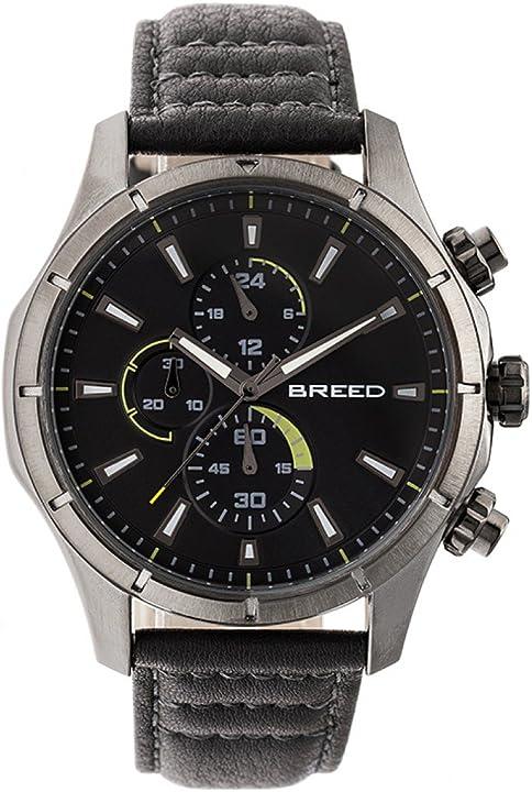 Orologio cronografo in pelle breed lacroix BRD6806