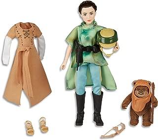 """Star Wars - Forces of Destiny - Endor Adventure Set inc 11"""" Princess Leia Organa & Wicket the Ewok"""