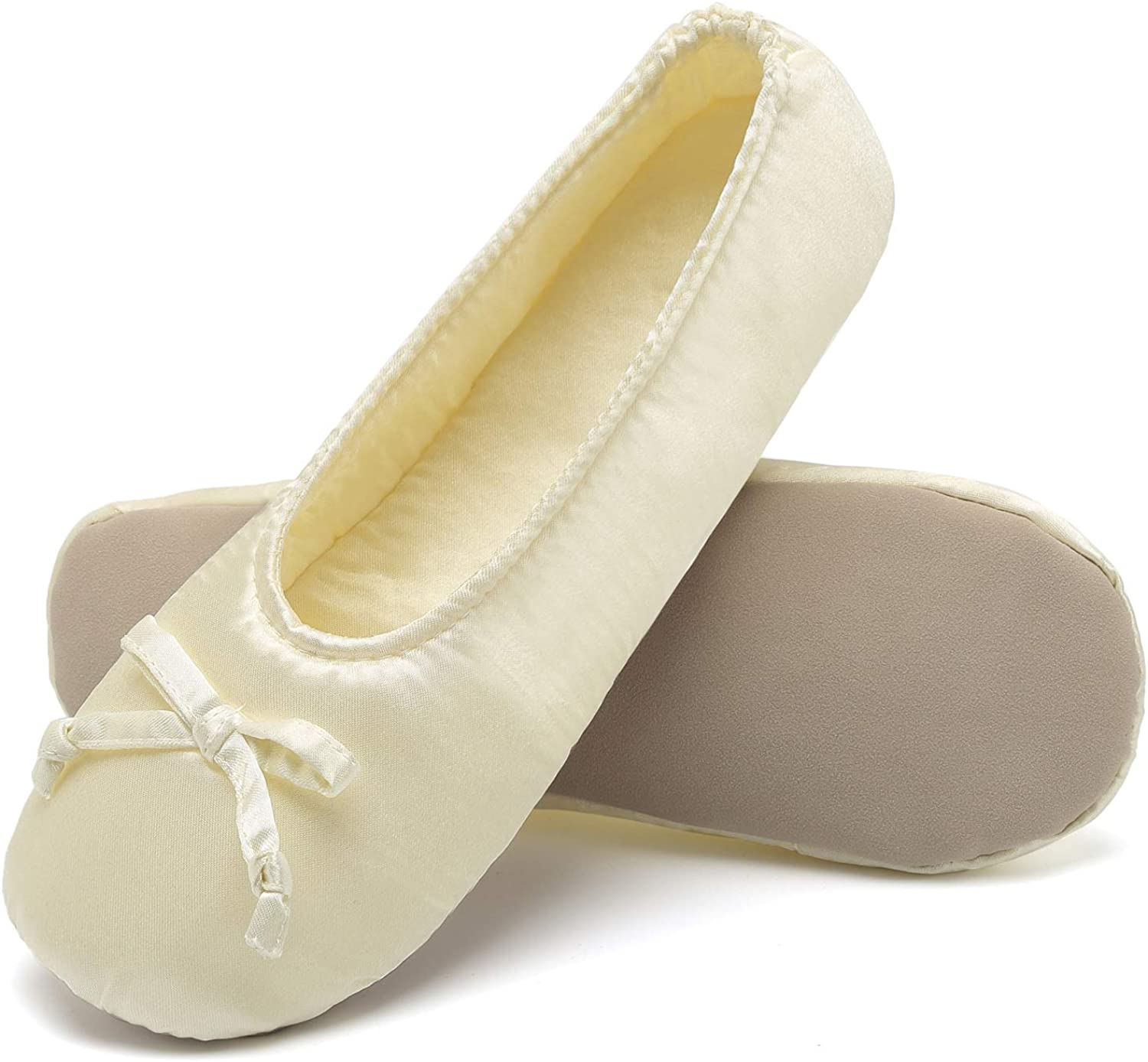 ANLUKE Ballet shoes House Slippers Flats Indoor shoes for Women