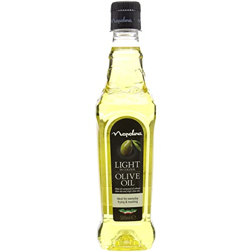Napolina Light in Colour Olive Oil, 500 ml, Pack of 6