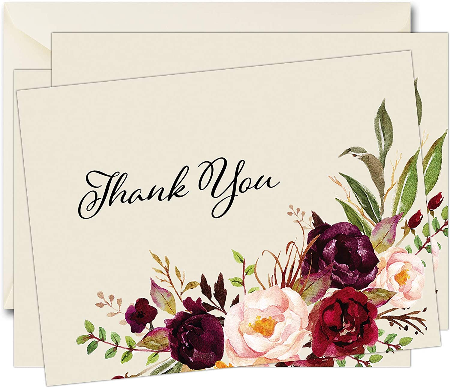 50 Funeral trust Sympathy Bereavement Weekly update Thank Cards With You Envelopes