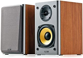New SPE-R1000T4-BROWN R1000T4-BROWN, EDIFIER R1000T4 Ultra-Stylish Active BOOKSELF Speaker - UNCOMPROMISING Sound Quality ...