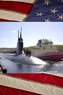 US Navy Submarine USS Connecticut (SSN 22) Journal: Take Notes, Write Down Memories in this 150 Page Lined Journal