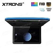 XTRONS 1920×1080 13.3 inch Resolution FHD Screen Car Roof Monitor Flip Down Overhead..