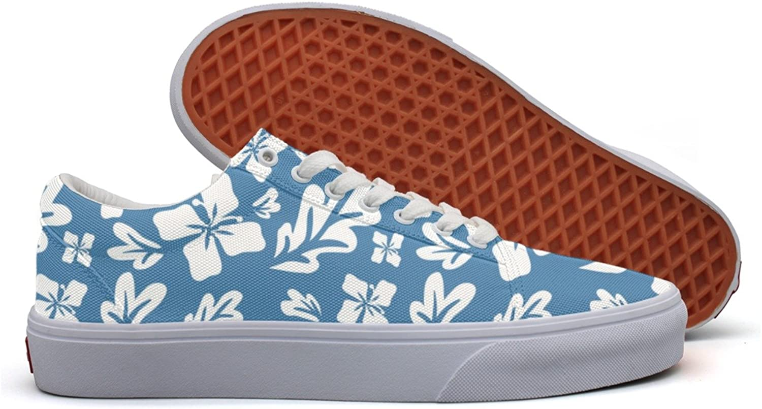 Tropical Summer Flowers Womens Latest Canvas Deck shoes Low Top Cool Basketball shoes For Woman