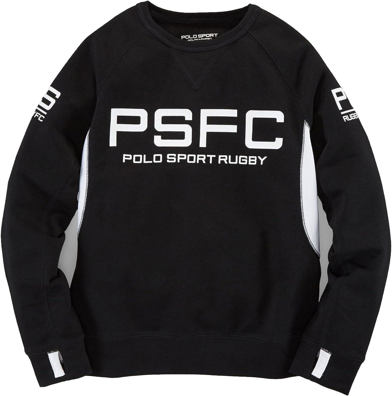 Ralph Lauren Polo Sport Boys Terry Graphic Pullover Top Sweatshirt