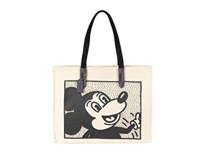 COACH Coach X Disney Keith Haring Mickey Tote 42