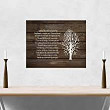 A Limb Has Fallen from Our Family Tree Wood Sign Canvas Wall Art Sympathy Gift Family Parent Memorial Friend Family Tree