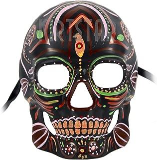 Men's Dia de Los Muertos Sugar Skull Mask