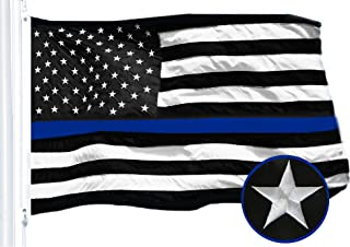 Best embroidered thin blue line flag Reviews