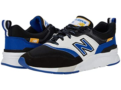 New Balance Classics 997H (Black/Team Royal) Men