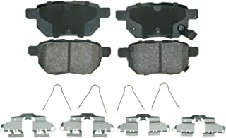 Wagner QuickStop ZD1423 Ceramic Disc Pad Set Includes Pad Installation Hardware, Rear
