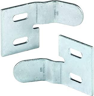 Prime-Line MP6538 Bi-Fold Door Surface Aligner, 1-1/8 Height, Stamped Steel Construction, Pack of 4, 4 Piece