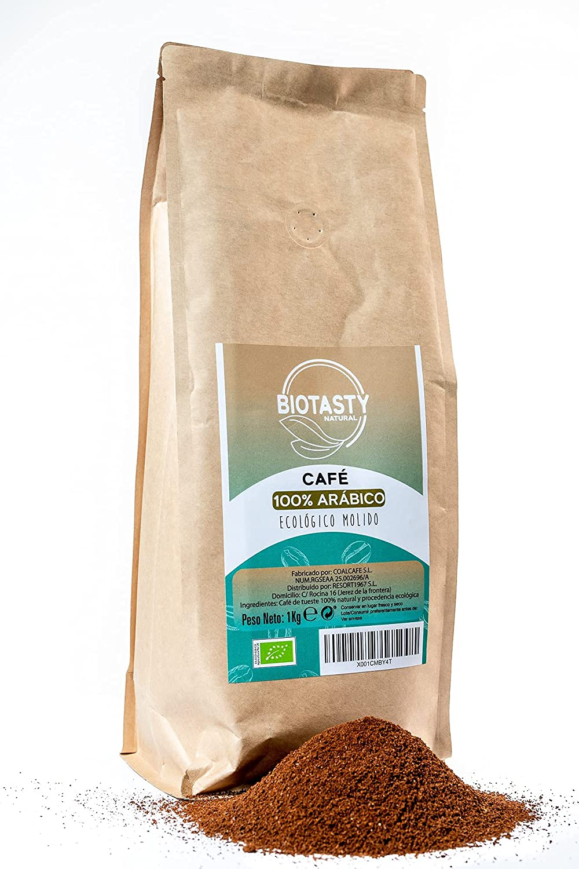 café molido 100% arábico ECOLOGICO ,MADE IN SPAIN , cafe molido,cafe 100% árabico, cafe ecologico
