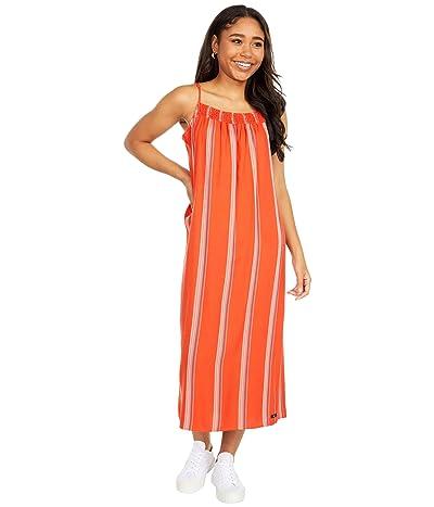 Hurley Quin Midi Dress (Mantra Orange) Women