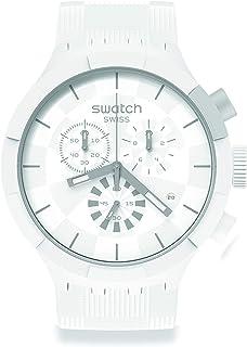 Orologio Swatch Big Bold Chrono SB02W400 CHEQUERED WHITE