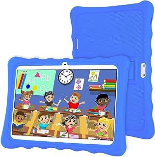 Tablet 10 Pollici,LAMZIEN Tablet Bambini,Android 8.0 2GB+32GB 1280*800 IPS Display 3G Dual-SIM Quad-Core WiFi Bluetooth Ju...