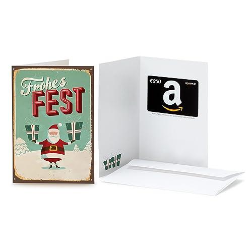 Amazon.de Geschenkkarte in Grußkarte