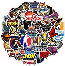 Counter-Strike:Global Offensive CSGO Sticker 50Pcs Waterproof, Removable,Cute,Beautiful,Stylish Teen Stickers, Suitable fo...