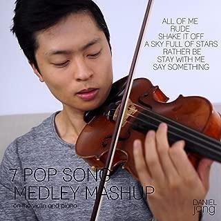 7 Pop Song Medley/Mashup On The Violin And Piano
