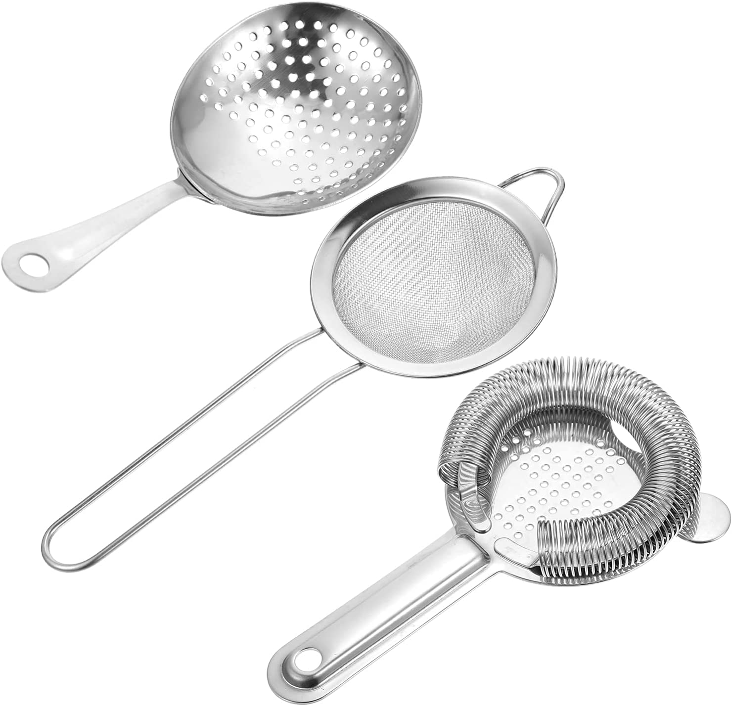 Sale SALE% OFF DOITOOL 3Pcs Metal Barware Bar Translated Stainless Strainer Tool Cocktail