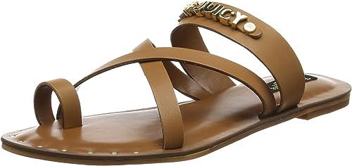 Juicy Couture Princley Charm Toe Sandal, Sandalias de Gladiador para mujer