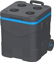 Cosmoplast Keep Cold Picnic Trolley Ice Box 45 liter Grey