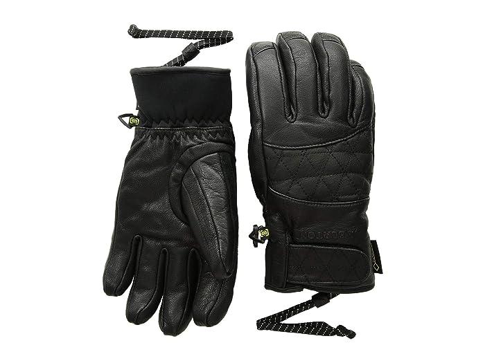 Burton GORE-TEX(r) Gondy Gloves (True Black) Snowboard Gloves