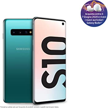 """Samsung Galaxy S10 - Smartphone de 6.1"""", Dual SIM, 128 GB, Verde ..."""