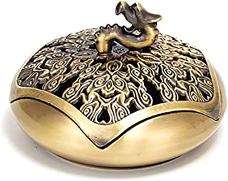 Feelme Incense Burner, Holder Burner Use Anywhere in Office, Home and Studio, with 48 Incense Coil Air Purifier