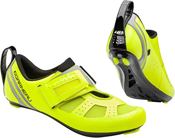 Louis Garneau Tri X-Speed III Shoe - Men's Bright Yellow, 48.0