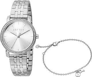 ساعة ايلين فالنتاين كوارتز عصرية للنساء من اسبريت - موديل ES1L183M2055