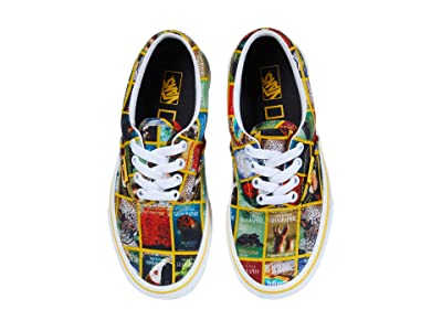 Vans Kids National Geographic Era (Little Kid/Big Kid) ((National Geographic) Multi Covers/True) Kids Shoes