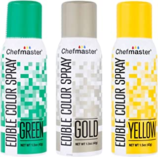 Best chefmaster edible gold spray Reviews