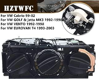 HZTWFC Car A/C Heater Control Switch Panel Climate Control 1H0820045D Compatible for VW Jetta Golf MK3 Vento Eurovan VW Golf 1992-1999 2000 2001 2002 Cabrio Jetta