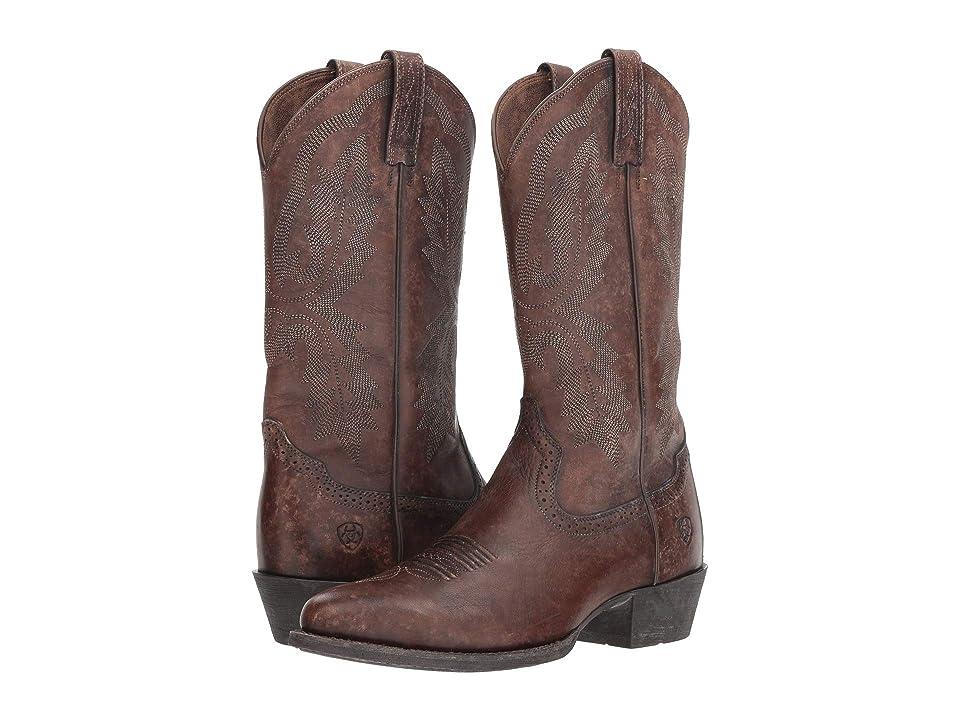 Ariat Heritage Calhoun (Naturally Brown) Cowboy Boots
