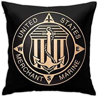 Qq2-Army-Store Merchant Marine Bronze with American Pillow Covers USA Style Sofa Home Decor Pattern Pillow Covers, Car Sofa Home Decor, Room Decorations