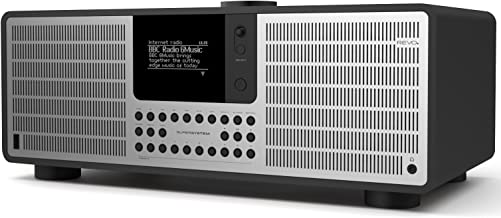 REVO SuperSystem Multi Format Premium Audio System - Black/Silver