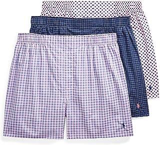 Polo Ralph Lauren Men's Classic Fit 3 Packaged Woven Boxers