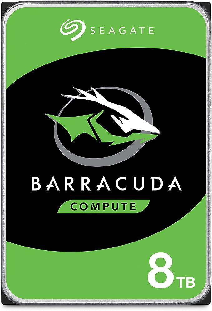 Amazon.com: Seagate BarraCuda - Disco duro interno (HDD) para computadoras portátiles de escritorio - Embalaje sin frustración: Computers & Accessories
