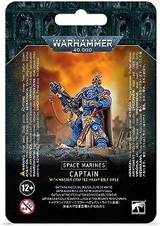 Warhammer 40k - Space Marine Primaris Captain avec Fusil Bolter de Maitre